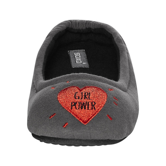 Chaussons ballerines femme SOXO GIRL POWER