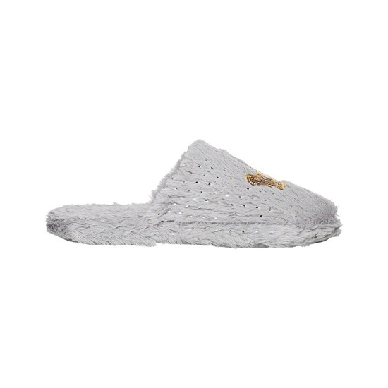 SOXO Chaussons Femme 'Crown' Gris